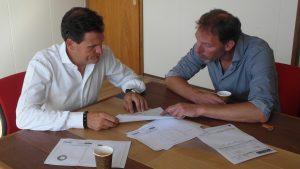 samenwerking project dieptrekken gasturbine onderdelen